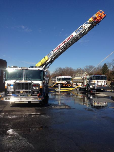 Pump Drill (942,1512) And Ladder (946) Drill At Monongahela Middle School 2/23/2014